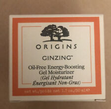 Origins GinZing Oil-Free Energy Boosting Gel Moisturizer 1.7oz/50ml NIB