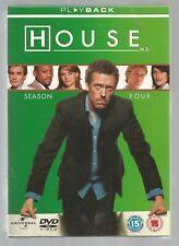 HOUSE - SEASON 4 - UK R2 DVD SET - sealed/new - SERIES FOUR