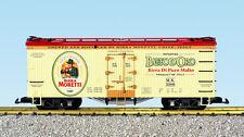 USA Trains G Scale R16480 U.S. REEFER CAR Birra Moretti NEW RELEASE