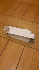 20 WHITE SMALL BOXES. 10 × 3 × 2 CM. NEW