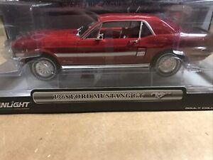 Greenlight - 1968 Ford Mustang GT - California Special 1:18
