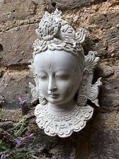 Simply Beautiful Buddhas Face Wall Plaque. Unique From The Designer Sius.