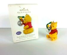 Hallmark Keepsake Disney Pooh Reflects on Christmas Winnie the Pooh Collection