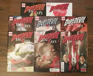 DAREDEVIL: END OF DAYS #1 2 3 4 5 6 7 8 High grade NM Near Mint. Complete Set