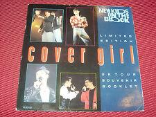 "New Kids on the Block: Cover Girl 7"" LTD UK Edition + Tour FOLLETO de souvenir"