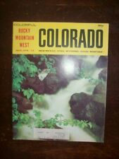 COLORADO MAGAZINE MARCH 1973 OLD WHITE GIANT CURT GOWDY