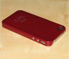 Rosso Cover posteriore rigida per Apple iPhone 4