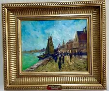 French Post Impressionist Oil Painting