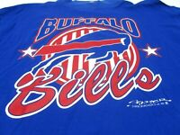 Vintage 1991 NFL Buffalo Bills Football Starter Long Sleeve T Shirt XL Stripes