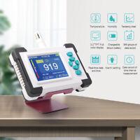 LCD Carbon Dioxide Detector Co2 Meter Home KTV PPM Monitor Data Logger USB Power