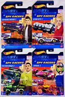 Hot Wheels Fast & Furious Spy Racers Netflix COMPLETE Set  4 w/FREE SHIPPING G66