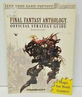 Final Fantasy Anthology - Official Strategy Guide Book from Brady Games 1999 PS1