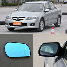 Rearview Mirror Blue Glasses LED Turn Signal Power Heating For Mazda 6 2011