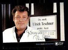 Walter Plathe ZDF Autogrammkarte Original Signiert # BC 76921