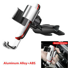 360° Rotation Car CD Slot Mount Bracket Phone Mobile Holder Aluminum Alloy+ABS