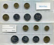 Münzsatz Lesotho 1996-1998 unc,  #24