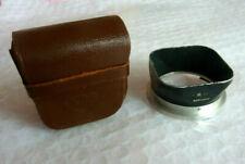 Rolleiflex lens hood with case