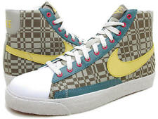 NIKE BLAZER MID SNEAKERS WOMEN SHOES 306499-271 Gld-Olv Khk-Vrsty  SIZE 7.5 NEW