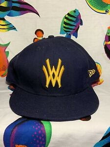 West Virginia Mountaineers New Era 59FIFTY Hat Fitted Cap Size 8