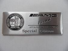 """AMG - """"Special Edition"""" -- Alu Plakette 3D Sticker Aufkleber Emblem Schriftzug"""