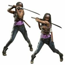 "McFarlane AMC'S THE WALKING DEAD TV 10"" Deluxe Box MICHONNE Action figure"