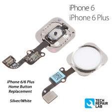 NUEVO IPHONE 6/6 Plus Completo Botón De Inicio Ensamblaje Recambio - SILVER /