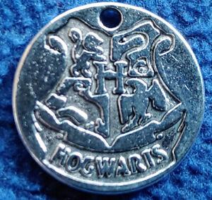 Harry Potter: Hogwarts - kleine Medaille für Schmuck / Kette