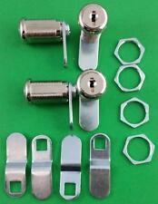 RV Trailer Motorhome Storage Compartment Door Cam Lock Set Of 4 Four 18-3319