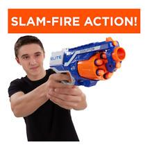 New Nerf Gun Boy's Toy Gun Elite Hand Cannon N Strike Blaster Includes 6 Darts