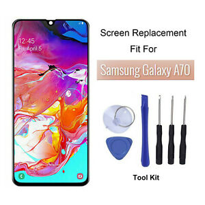 For Samsung Galaxy A70 Front Glass Digitizer LCD Screen Replacement Kit A+