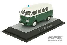 VW T1 Bus - Polizei - grün / weiss - Limited Edition 1/500 - 1:43 PC 13852