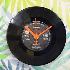 """Madonna 'Gambler' Retro Chic Vintage 7"""" Vinyl Record Wall Clock"""