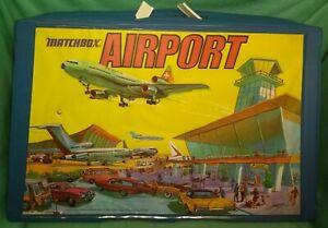 vintage 1973 Matchbox Airport playset