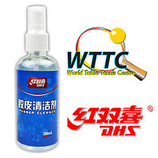 Double Happiness DHS Table Tennis Rubber Cleaner (98ml) x 1 Bottle
