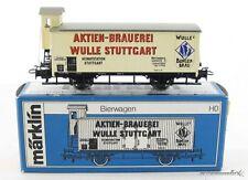 Märklin Hamo 8478 H0  Güterwagen Bierwagen Wulle Stuttgart mit OVP X00001-02310