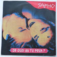 "MAXI 12"" SAPHO De quoi as tu peur ? 430002"
