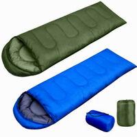 Outdoor Waterproof Envelope Sleeping Bag Survival Thermal Travel Hiking Camping