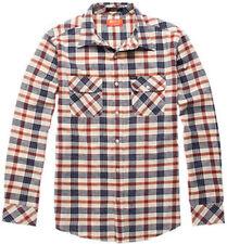 MATIX Woodsmen Flannel Shirt (L) Natural
