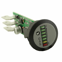 Peel Round 7 LED Indash Gauge Unit to Suit  LPG & CNG Systems