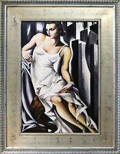 Tamara de Lempicka -Portrait der Madame Allan Bott-Ölgemälde Handgemalt 122x92cm