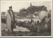 AK Hindenburg vor der Marienburg s/w ca  1930er (708-AK093)
