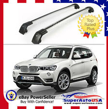 Top Roof Rack Fit  For BMW X3 F25 2011 - 2017 Baggage Luggage Cross Bar crossbar