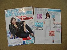Black Enterprise Magazine Dec 2010 Tweeting For Dollars March 2012 Social Media