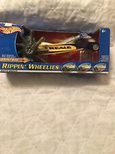 Hot Wheels RIPPIN' WHEELIES Yellow/Purple Car Factory Sealed Rare 2002 Edition