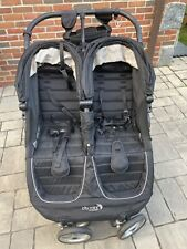 Baby Jogger City Mini Gt Double Standard Double Seat Stroller - Black/Shadow