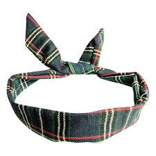 Retro Wire Headbands - Wired Rockabilly Summer Head Scarf Hair Band Head Wrap