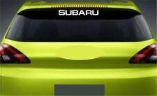 Rear Window Sticker Fits Subaru Impreza Premium Qaulity Decals Graphics RL92