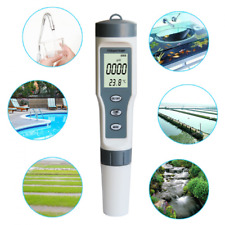 3 in 1 TDS/PH/TEMP Meter LCD Digital Water Quality Monitor Tester Purity Pen