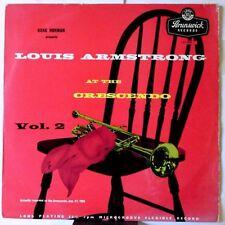 At the Crescendo vol. 2 (UK 1955) par Louis Armstrong