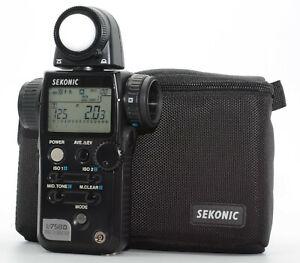 【MINT】  Sekonic L-758 D L758 Digital Master Light Meter from Japan #179